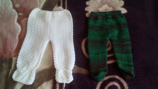 Штанишки вязание