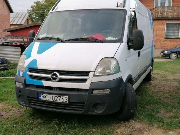 Opel Movano Brygadówka