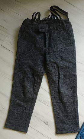Spodnie z szelkami