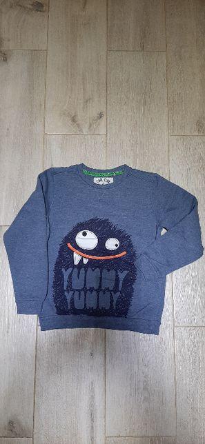 Bluza sweter polar Cool Club 134 cm dla chłopca chłopięca