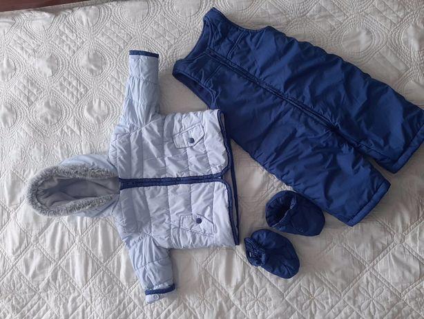 Комплект( комбінезон+куртка)3-6 міс.