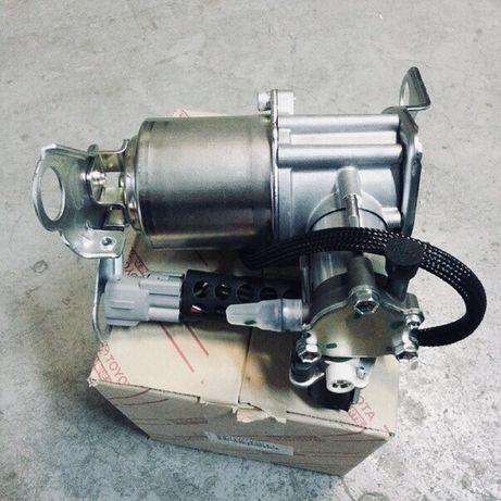 Электро пневмо компрессор пневмоподвески Prado120/150, GX470