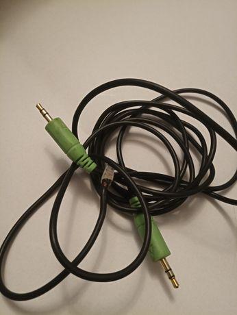 Kabel, przewód jack - jack 3,5 mm. Długość ponad 2 m.