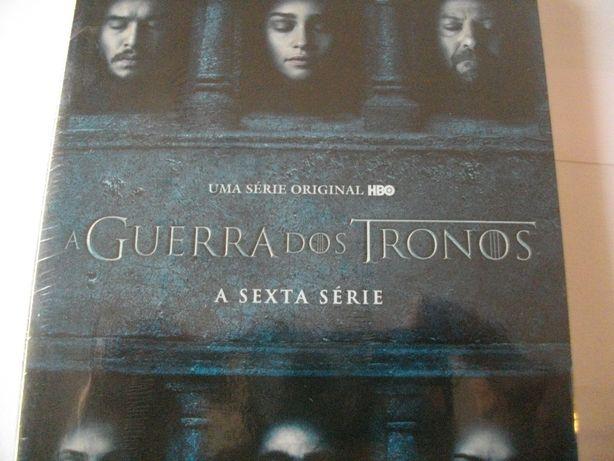 (Novo) Série 6: A guerra dos tronos em DVD