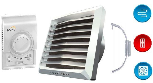 Nagrzewnica volcano 20kW z konsola termostat regulator wentylator