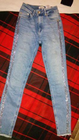 Стильные, крутые новые джинсы+ суперовая туничка в подарок