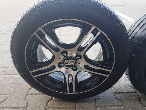 Felgi MSW 4x100 opony Barum 195/50/15 Honda Civic