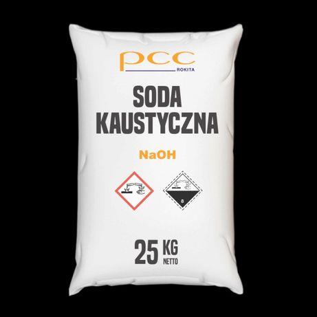Wodorotlenek Sodu 25 kg, Soda Kaustyczna płatki