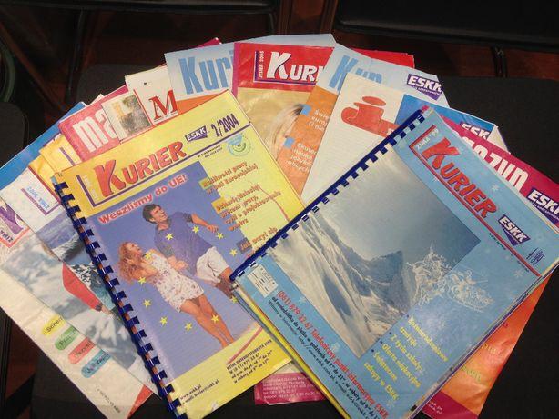Zestaw magazynów i kurierów ESKK inspirujące i motywujące teksty:)