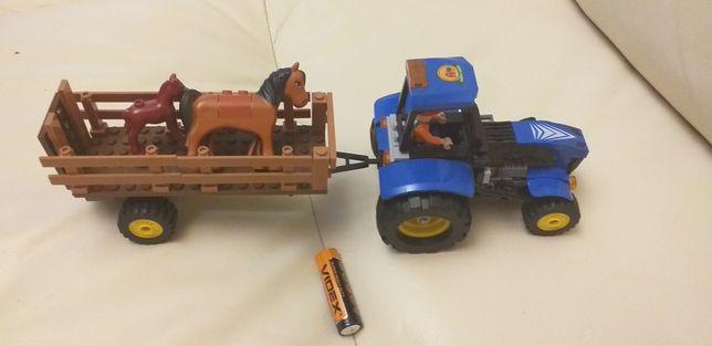 Конструктор Трактор АНАЛОГ Лего