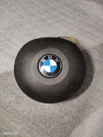 Airbag do Volante BMW Serie 3 E46 COMPACT X5 E53 redondo 33109680803x condutor airbeg pack m