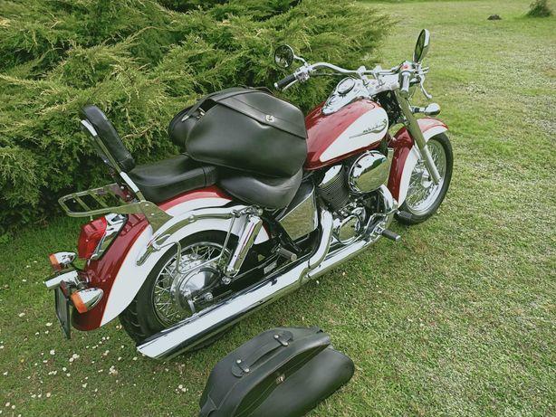 Witam sprzedam Honda VT 750 shadow 2001 rok motor perfekcyjnym stanie
