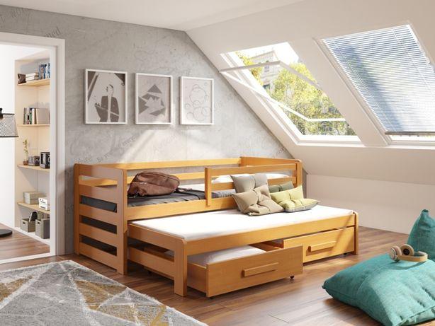 Double bed ! Łóżeczko w całości z drewna, wykonamy je dla Ciebie!