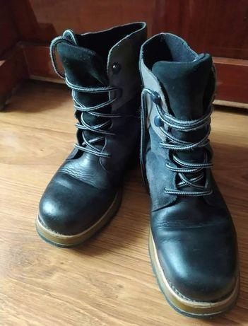 Ботинки шкіряні, розмір 35