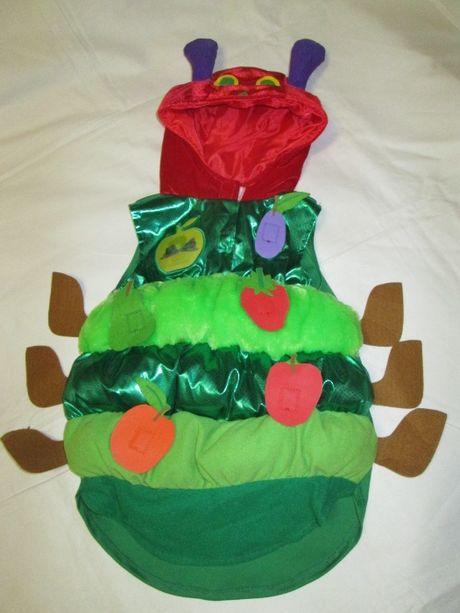Карнавальный костюм гусеницы 2-3-4 года