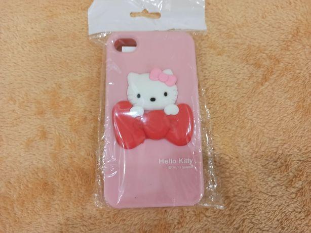 Стильный акссесуар Hello Kitty силиконовый для Apple 4