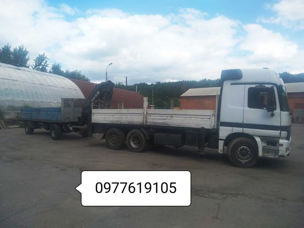 Послуги кран - маніпулятор вантажні перевезення - манипулятор услуги