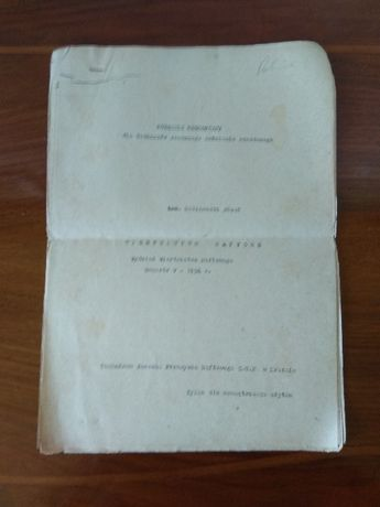 Krosno Poradnik metodyczny nafta wietnictwo naftowe 1956 r.