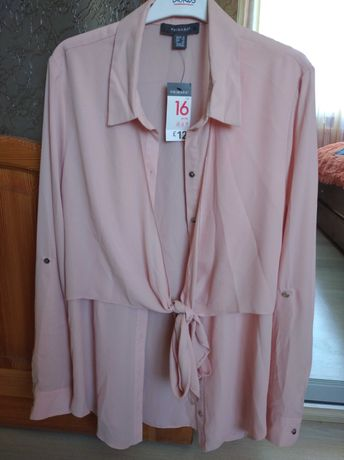 Шикарная шифоновая блуза