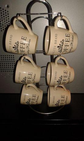 Набор кофейных чашек чашечки для кофе