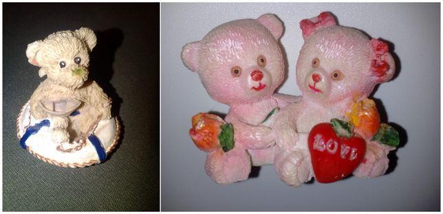 Лот Сувениры статуэтки фигурки Мишка с корабликом Влюблённые мишки