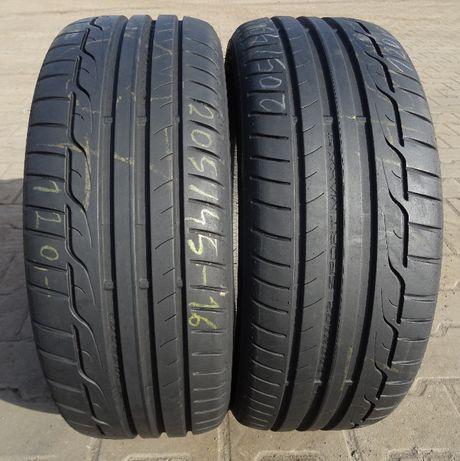 Opona używana 205/45 R16 Dunlop Sport Maxx RT
