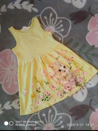 Літня сукня сарафан H&M дівчинці 2-4 роки