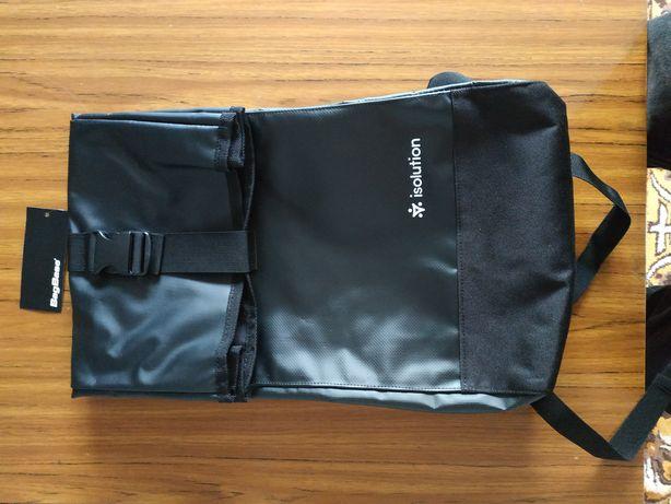 Bagbase Tarp Roll Top Backpack Czarny