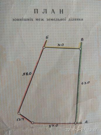 Продаю земельный участок 25 соток в с. Гурьевка Новоодесского р-на