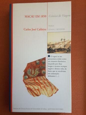 Macau em 1850 Crónica de Viagem / V. Magalhães Godinho: Ensaios