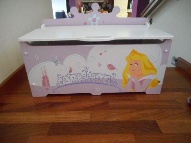 Skrzynia dla dziewczynki księżniczki Disney