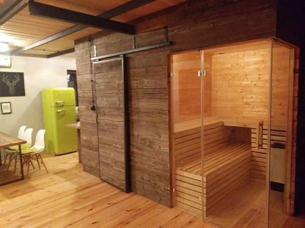 Komfortowy domek do wynajęcia sauna, kominek wolne terminy