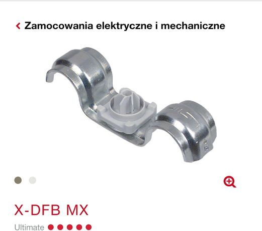 X-DFB MX uchwyt do kabli