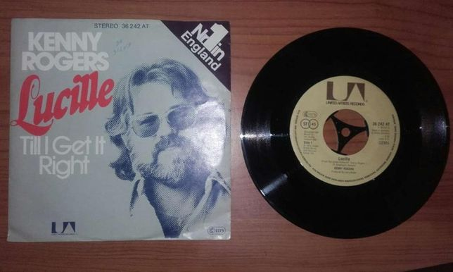 "Kenny Rogers ‎– Lucille (7"", Single)"