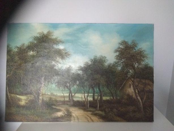 Obraz olejny pejzaż