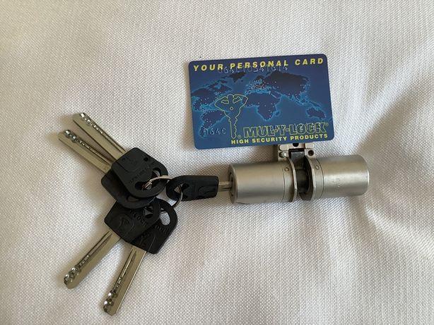 Mul- T- lock canhao com 5 chaves alta segurança