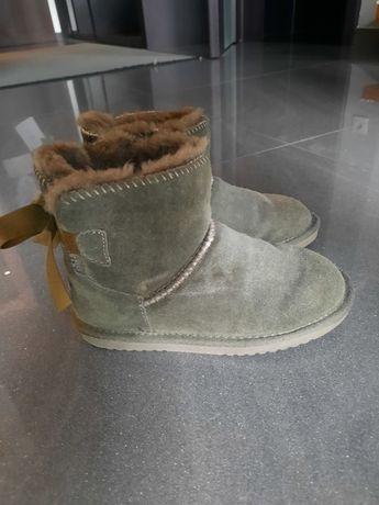 Skórzane boots, rozmiar 29, dl wkładki 18cm