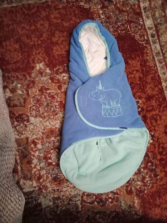 Ciepły otulacz śpiworek Lidl