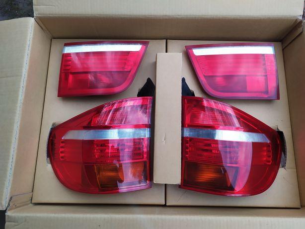 Lampa lewa + prawa BMW X5 e70 przed lift