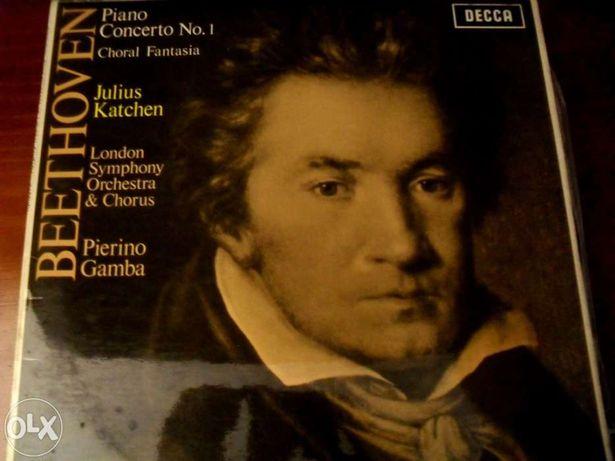 Beethoven - Piano Concerto nº 1 - LP vinil