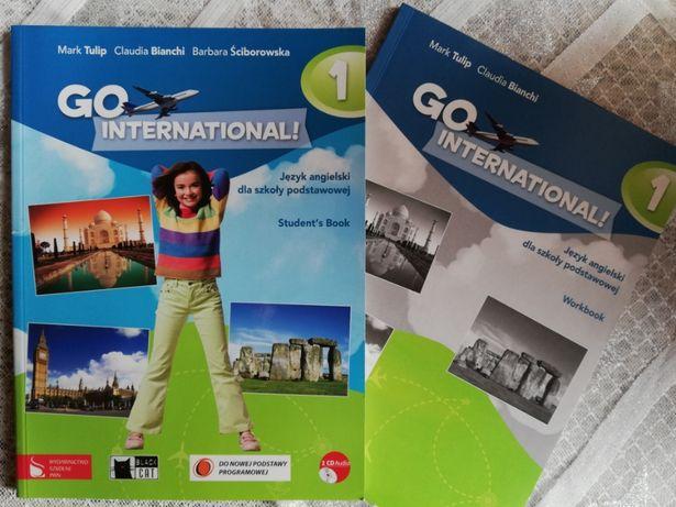 GO International! 1 +2CD Student's Book + Workbook+CD