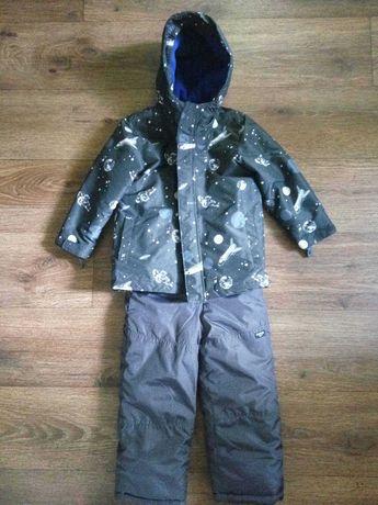 Куртка + Комбез + флисовая кофта подстежка + варежки