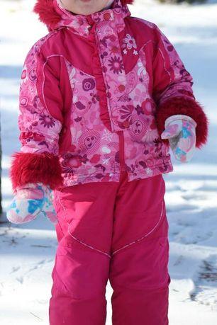 Зимний комбинезон куртка Lenne Reima Obermeyer, размер 98+6
