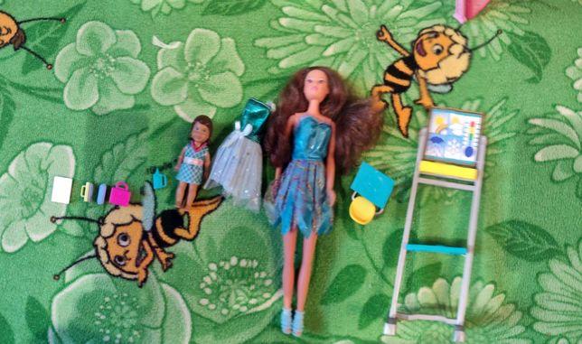 Lalka Barbie Zestaw szkolny + akcesoria