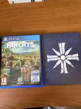 Far Cry 5 com CD e mapa (Deluce Edition)