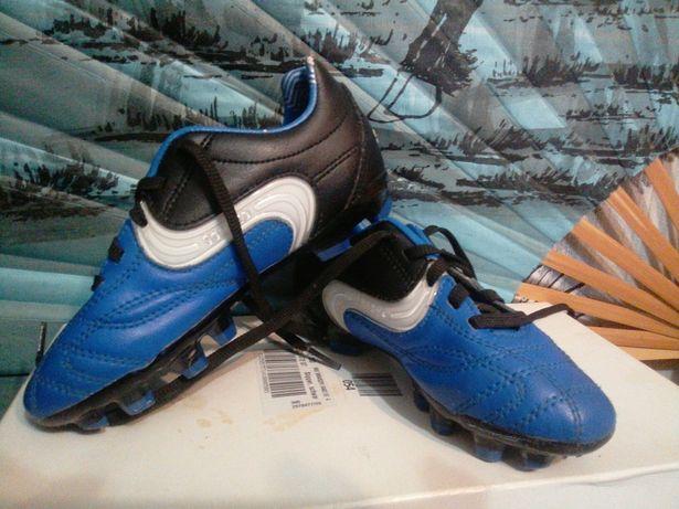 Бутсы детские футбольные Sondico из натур. кожи размер 29