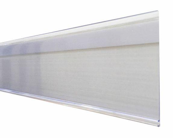 Цінникотримач на клейкій основі прозорий