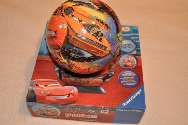 puzzle kula Auta Zygzak puzzleball 108 elementów 3D