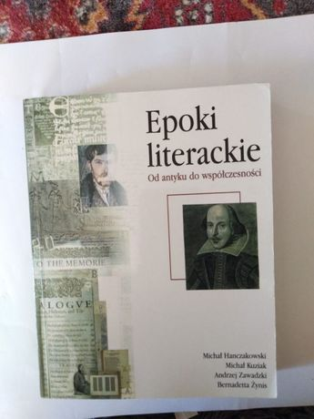 Epoki Literackie,od antyku do współczesności,unikat,opr,nauk,praca zbi