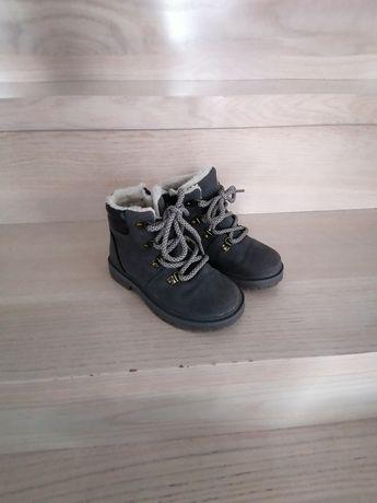 Buty chłopięce zimowe traperki Lupilu